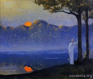La_musa_del_Amanecer_1918_Alphonse_Osbert