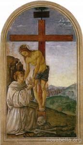 Perugino,_San_Bernardo_accoglie_il_Cristo_che_si_stacca_dalla_croce,