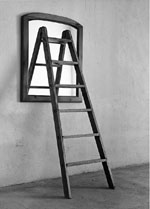 espejo escalera