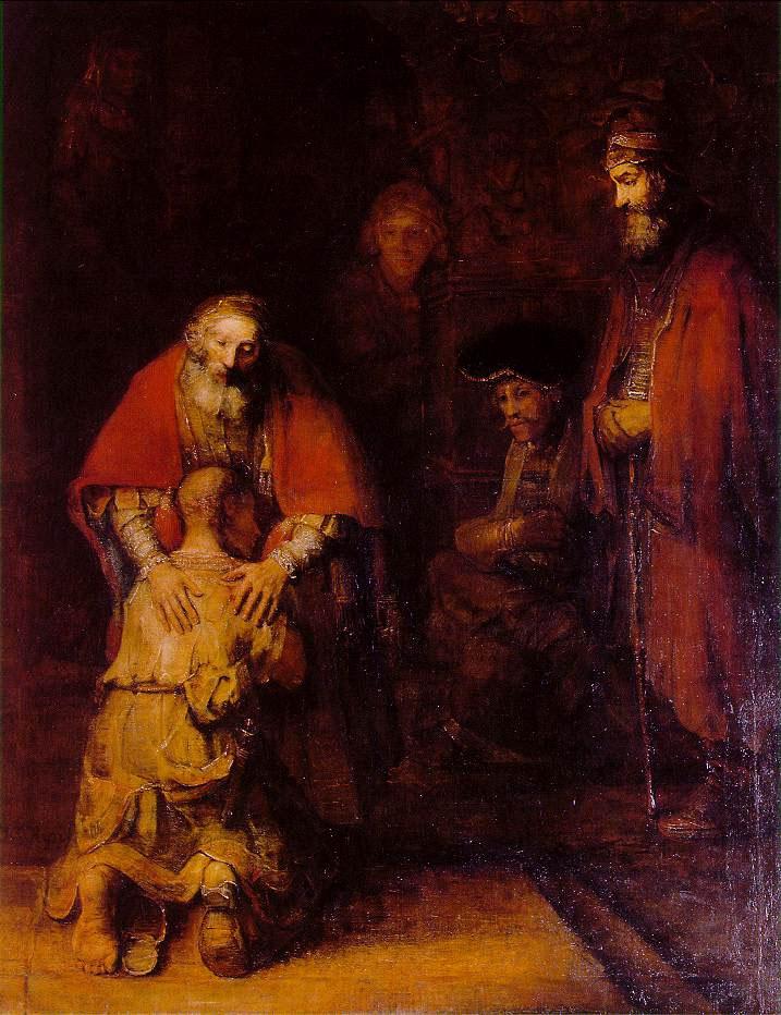 rembrandt hijo pródigo